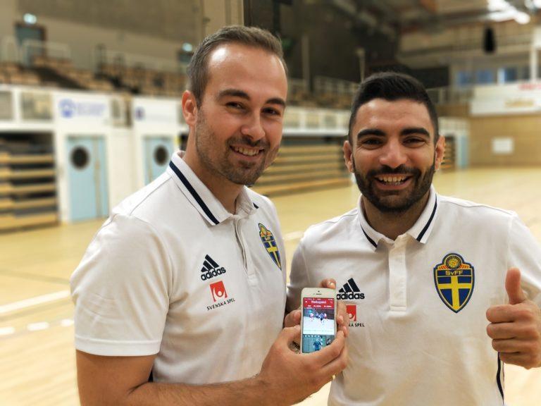 Futsalmagasinets app – en självklarhet om domareliten får välja