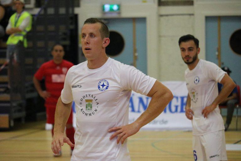 """Baggers fyra mål tog IFK Uddevalla upp i topp: """"Vi gör det vi ska"""""""