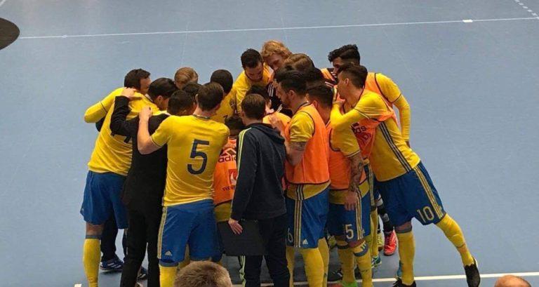 """Första segern för """"nya"""" landslaget"""