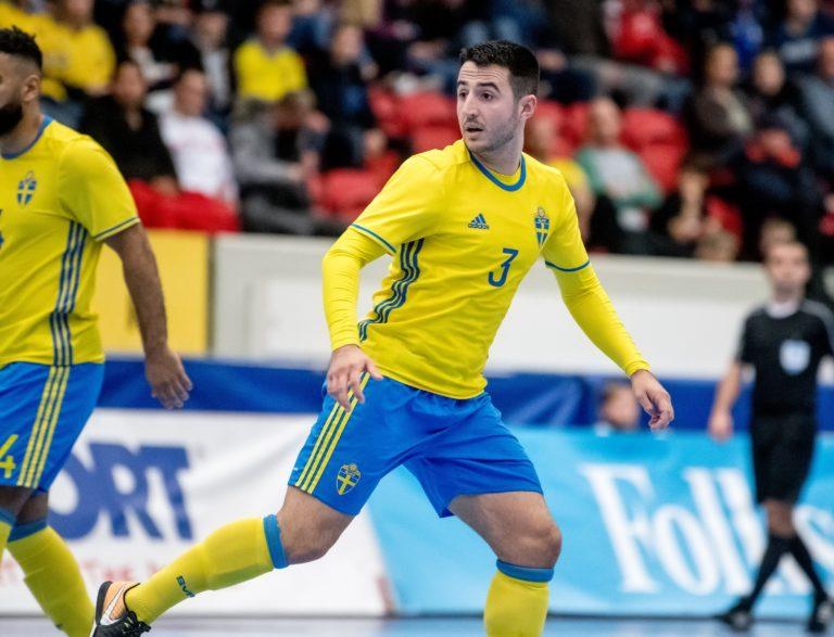AVSLÖJAR: Fehim Smajlovic klar för IFK Uddevalla Futsal