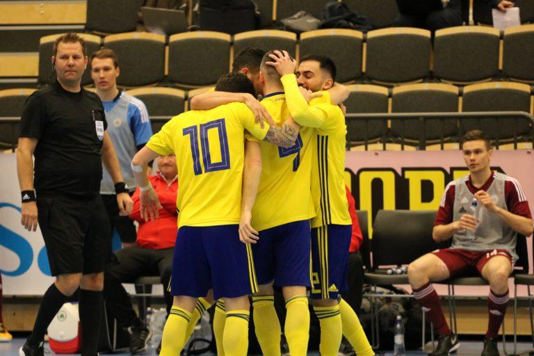 Sverige imponerade – slog Lettland med uddamålet
