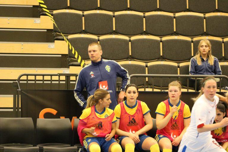 Förbundskaptenen gästade IFK Uddevalla Futsal