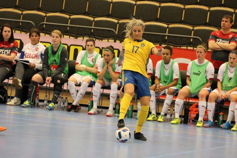 Historisk seger för det svenska damlandslaget – vände och vann mot Tjeckien