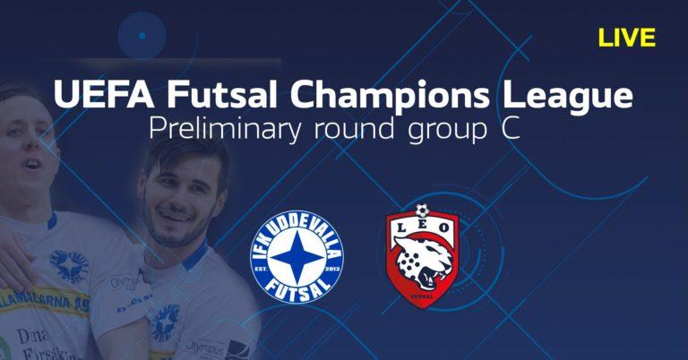 TV: Se IFK Uddevalla Futsal – Leo FC i efterhand