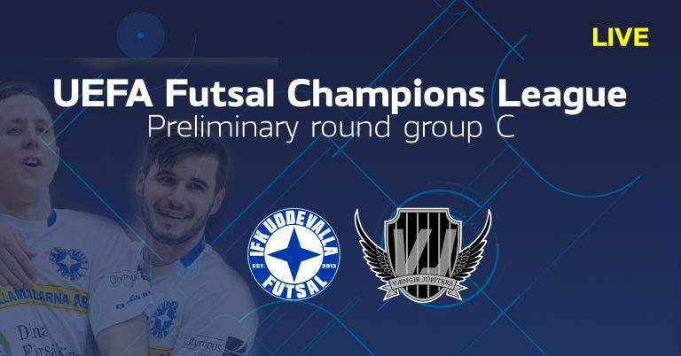 TV: Se IFK Uddevalla Futsal-Vaengir Jupiters i efterhand