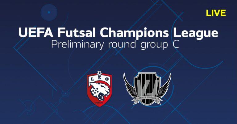 TV: Se Leo Futsal Club-Vaengir Jupiters i efterhand