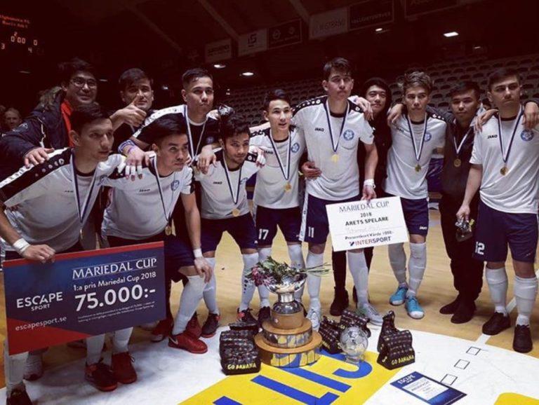 Afghanska FC tog hem Mariedal Cup för andra året i rad