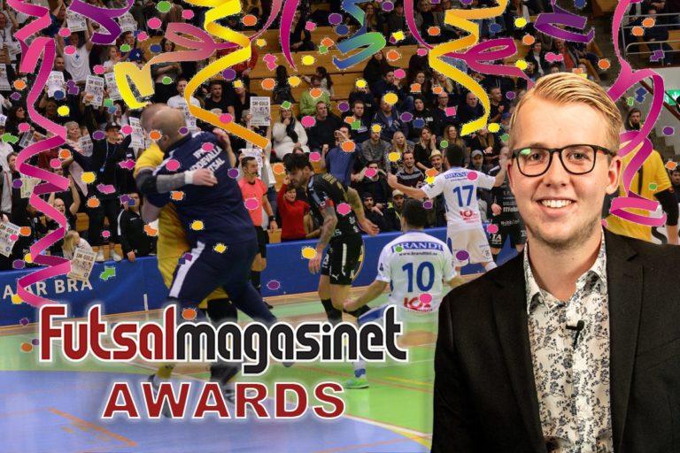 """2018 lider mot sitt slut – här är """"Futsalmagasinet Awards"""""""