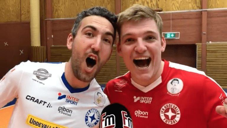 """TV: Emilio Rossi och Viktor Jansson: """"Vi är värdiga vinnare 2019"""""""