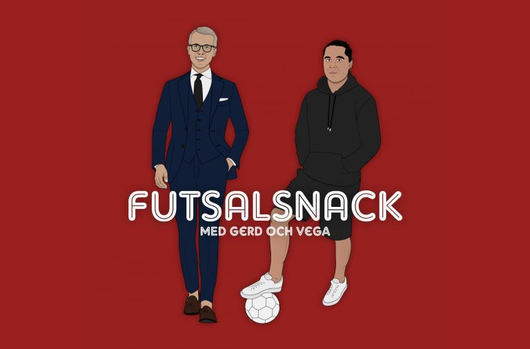 Nu lanserar vi vår egen podcast Futsalsnack