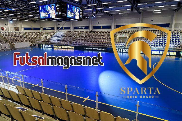 Futsalmagasinet inleder säsongslångt samarbete med Sparta Shin Guard
