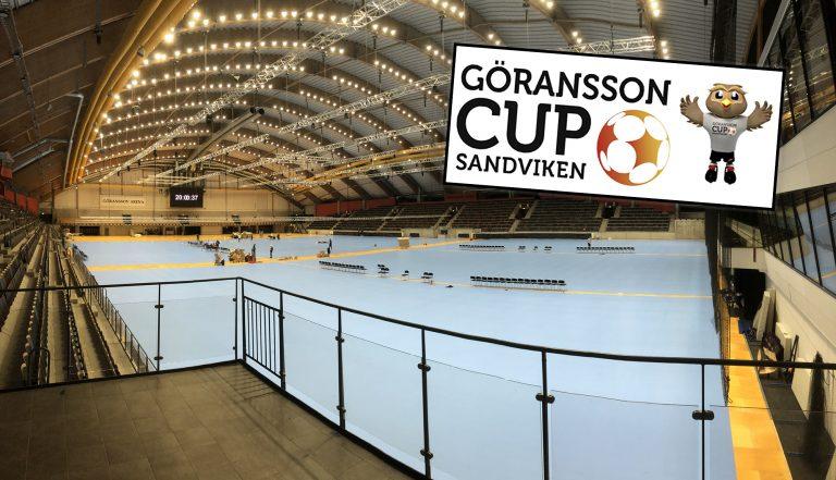"""Nya golvet sista stora pusselbiten för Göransson Cup: """"Bäst i Sverige"""""""