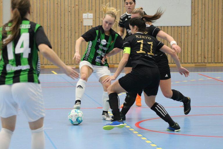 Likaläge i kvartsfinalen mellan Järla och GAIS