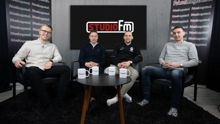 Studio FM – avsnitt 6: Christoffer Lundh och Krister Andersson (del 1)