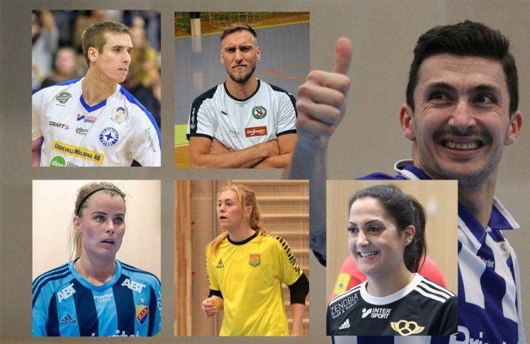 De är nominerade till Årets futsalspelare