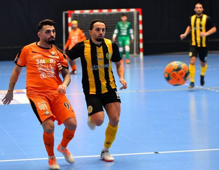 AFC Eskilstuna föll ihop mot regerande mästarna